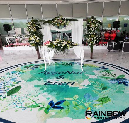 Düğün Masaüstü Süsleme Organizasyon