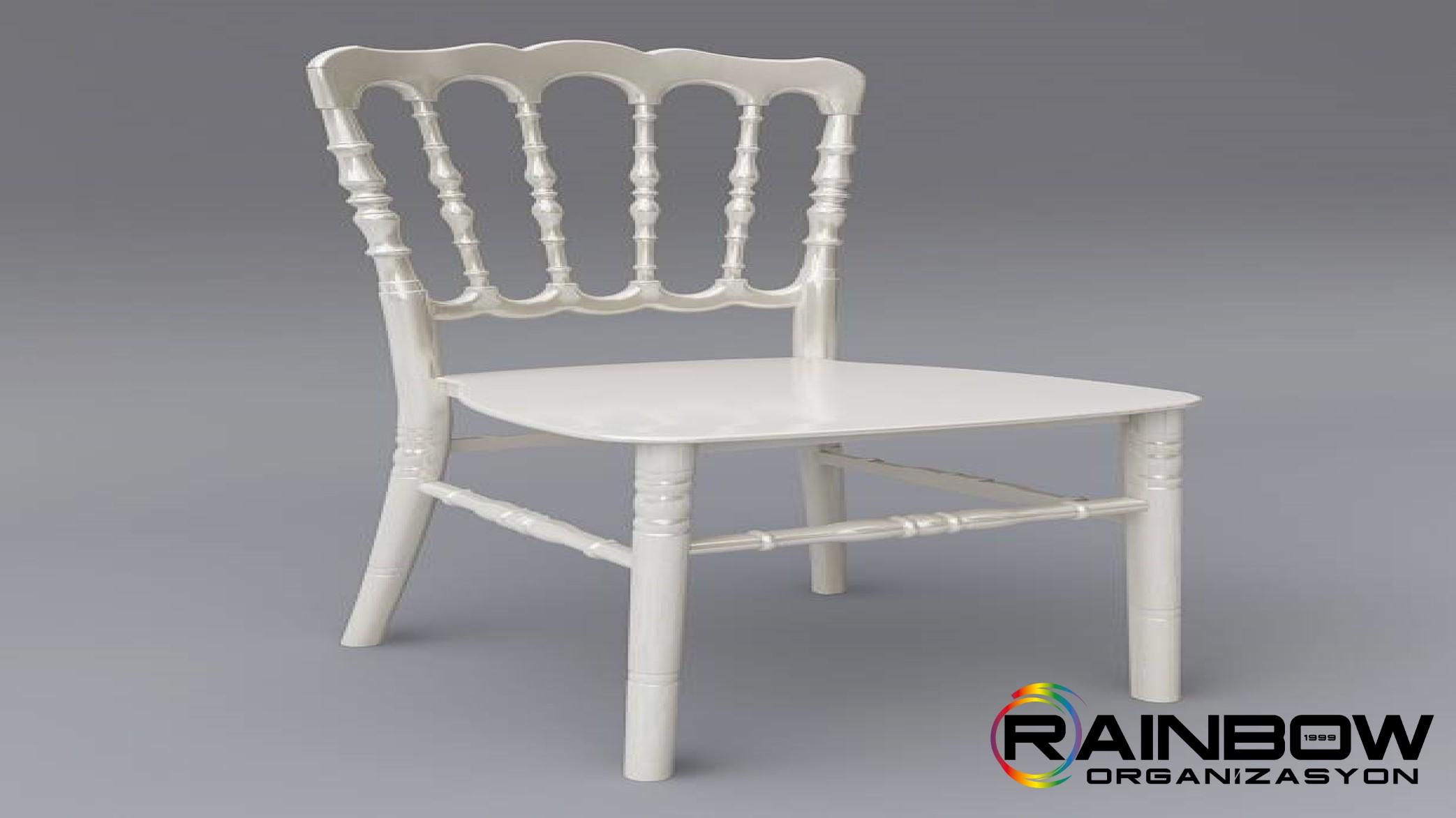 Plastik-Napolyon-Sandalye-Sedef