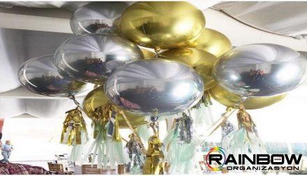 bursa metalik balon