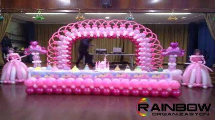 doğum gunu balon süsleme